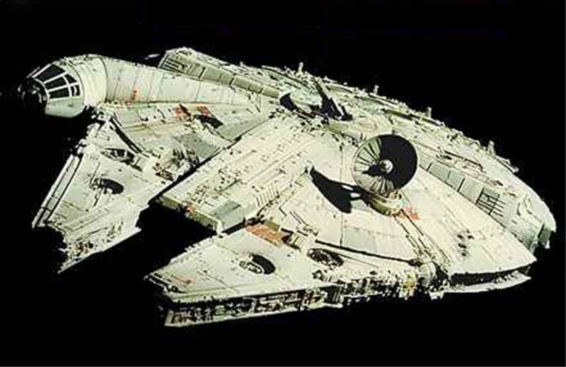 The Millennium Falcon (Complete