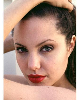angelina jolie face profile. Angelina Jolie 1975 -