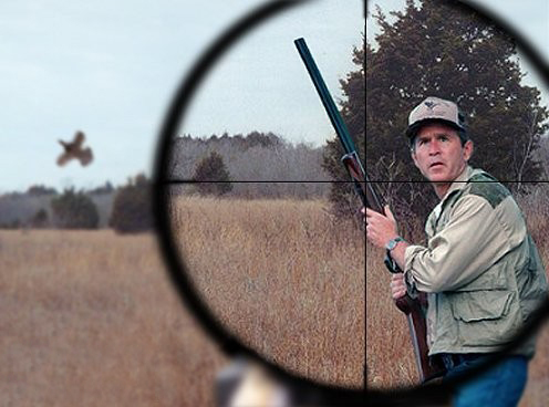 dick cheney hunting. Hunting is the only sport